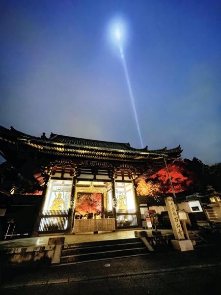 石山寺のライトアップ