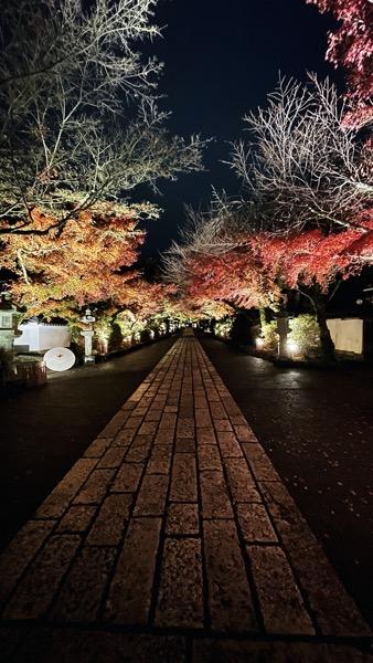 石山寺の境内