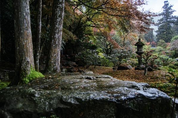 旧竹林院の庭園