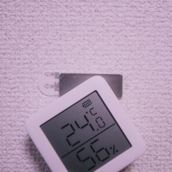 SwitchBot 温湿度計 取り付け